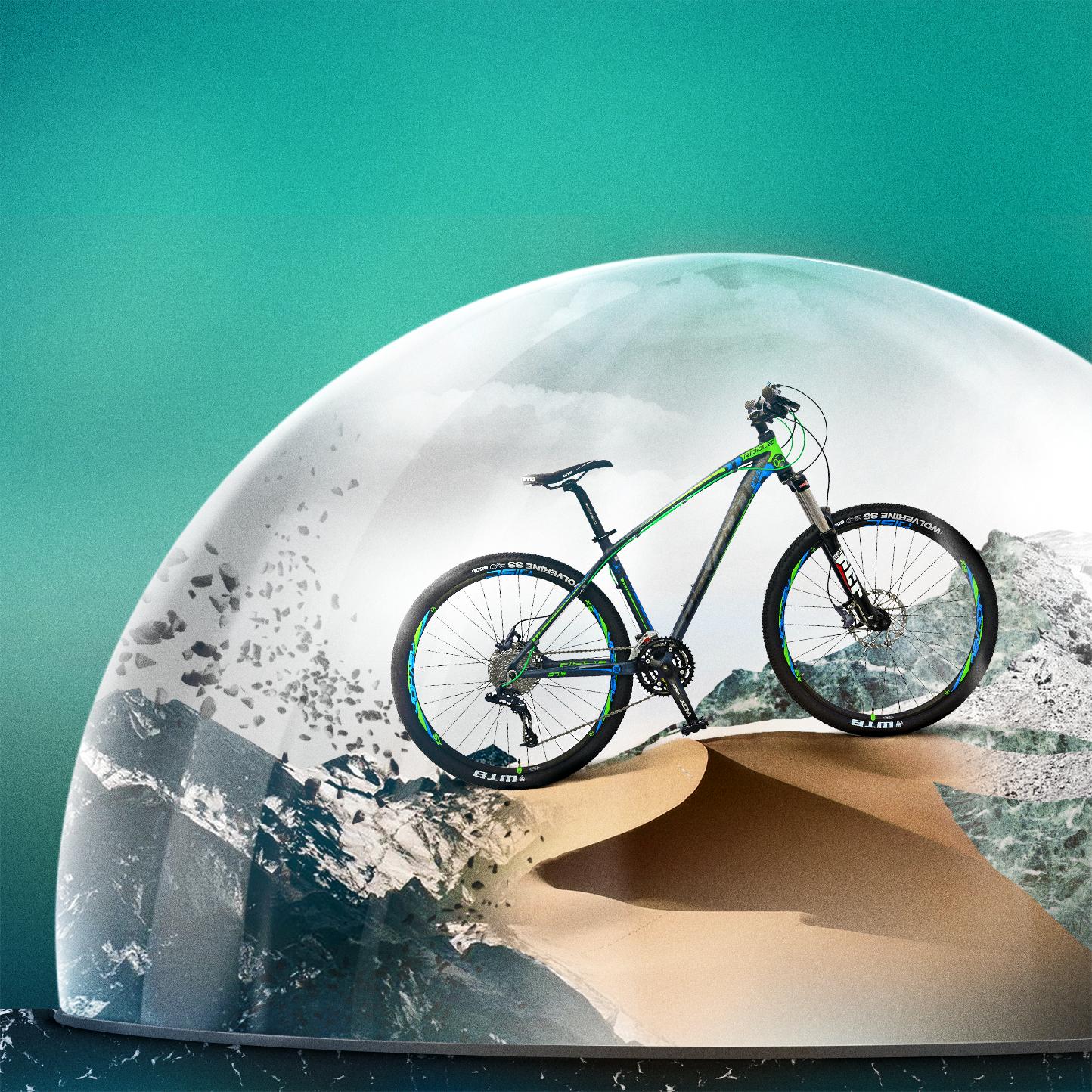Univers graphique cyclisme